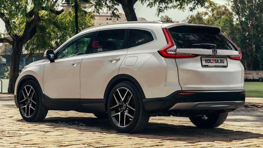 2023 Honda CR-V Unofficial Rendering