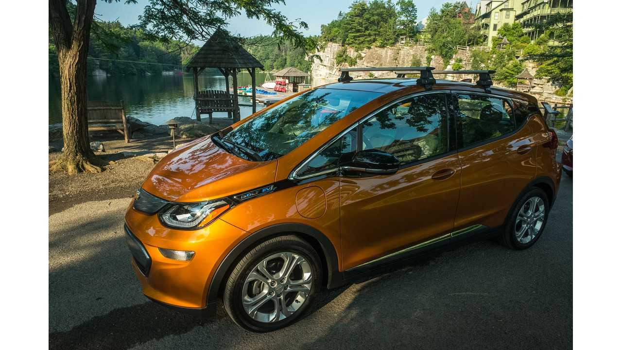 The Chevrolet Bolt is just the beginning of GM's long line of electric vehicles.