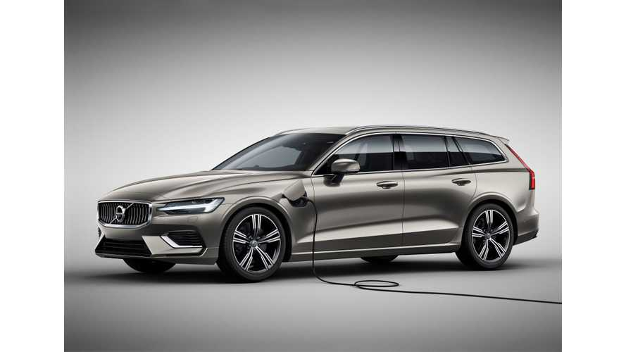 New Volvo V60 To Get 2 PHEV Variants