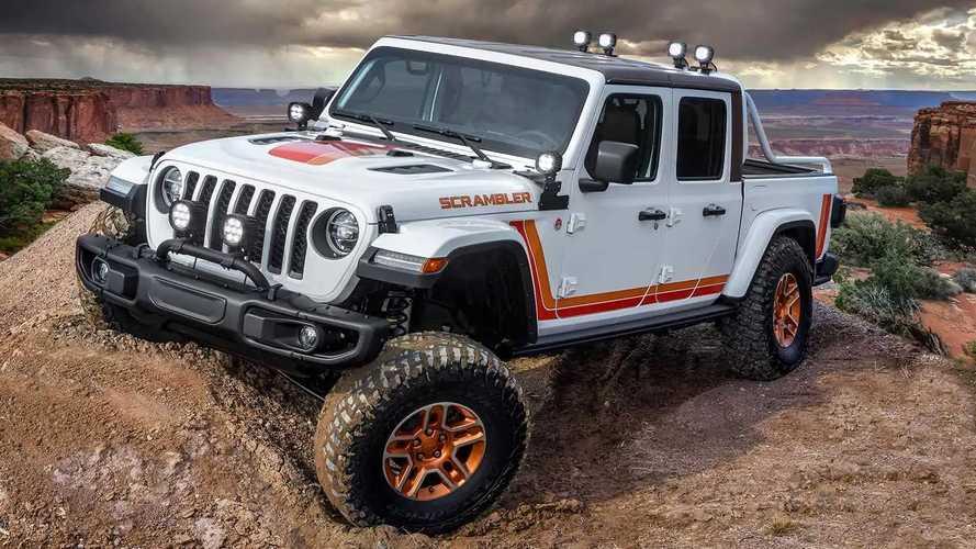 Jeep Gladiator JT Scrambler Concept