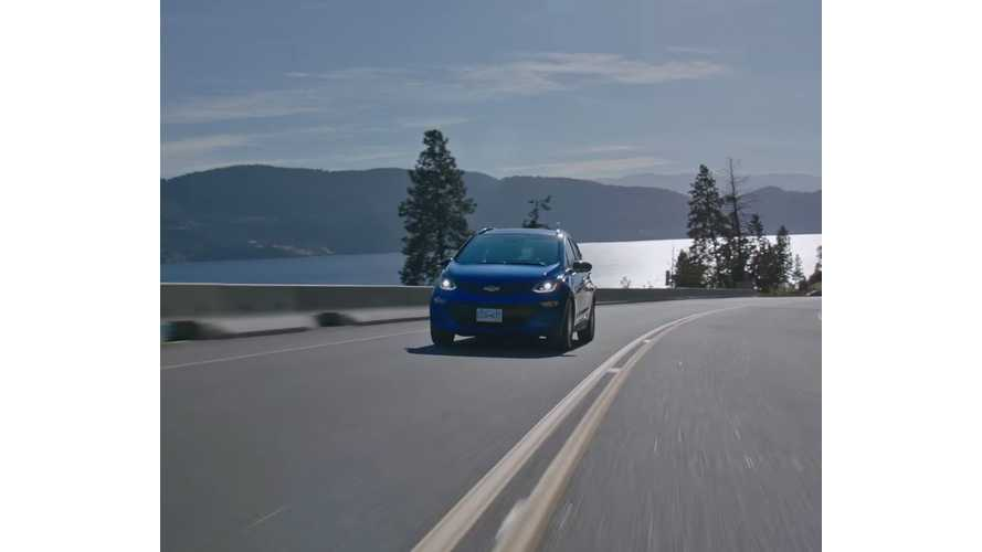 Chevrolet Canada Releases Chevy Bolt Video About Sustainable Choices