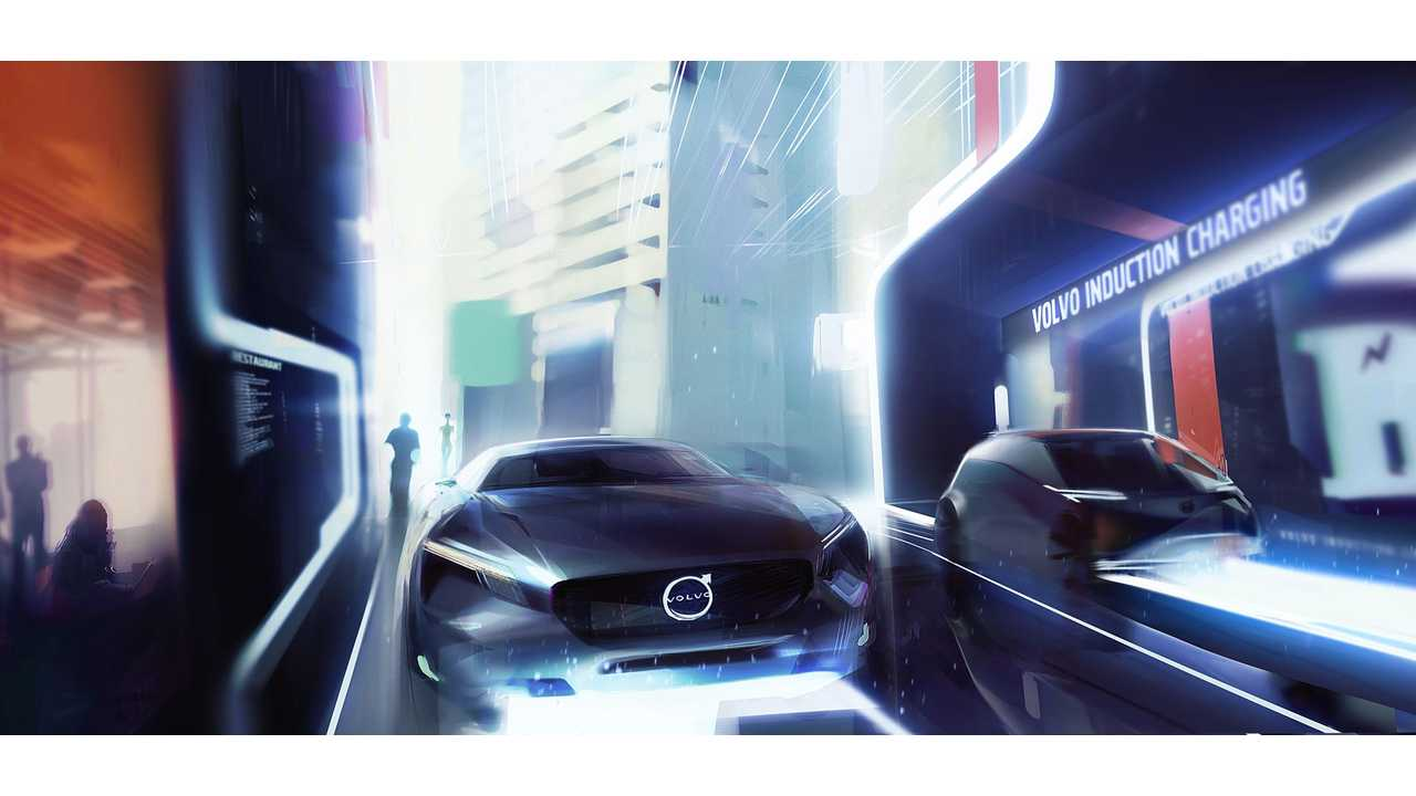 Volvo Cars' vision of an electric future