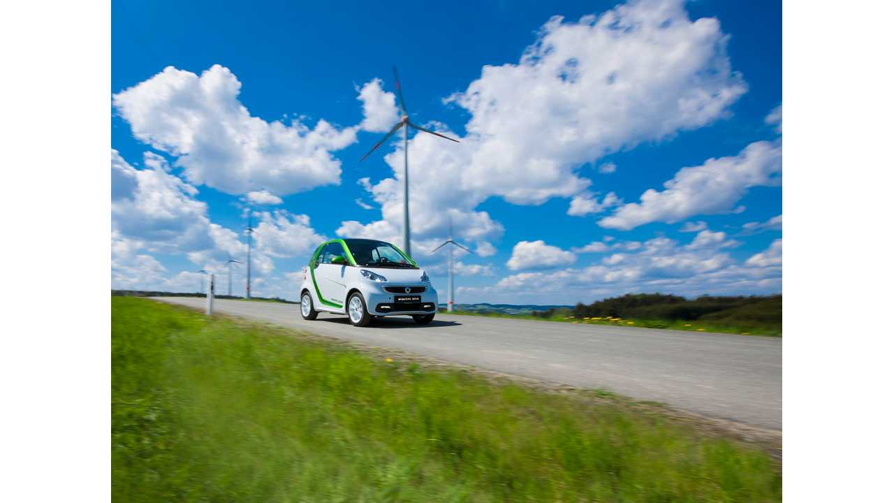 Daimler Confirms 2016 Arrival Of Next-Gen Smart Fortwo Electric & Forfour Electric