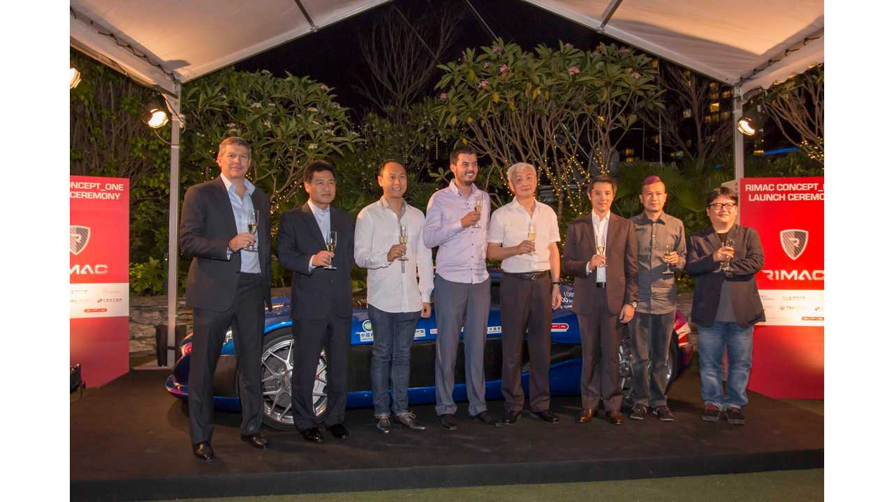 Rimac Automobili Closes 10M Euro Series-A Investment Round