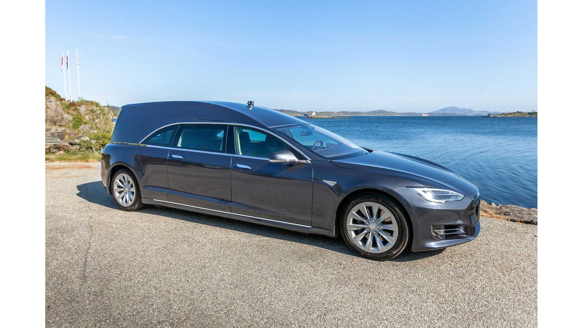You Can Buy This Tesla Model S Hearse For Almost $250,000