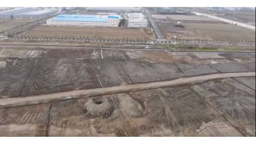 New Flyover At Tesla Gigafactory 3 In China Reveals Progress: Video