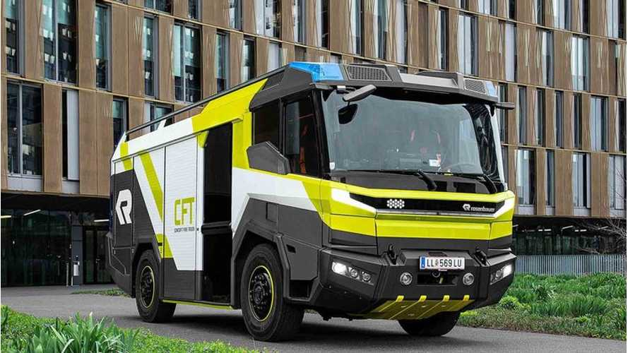 Rosenbauer Fire Truck To Go Electric Thanks To Volvo