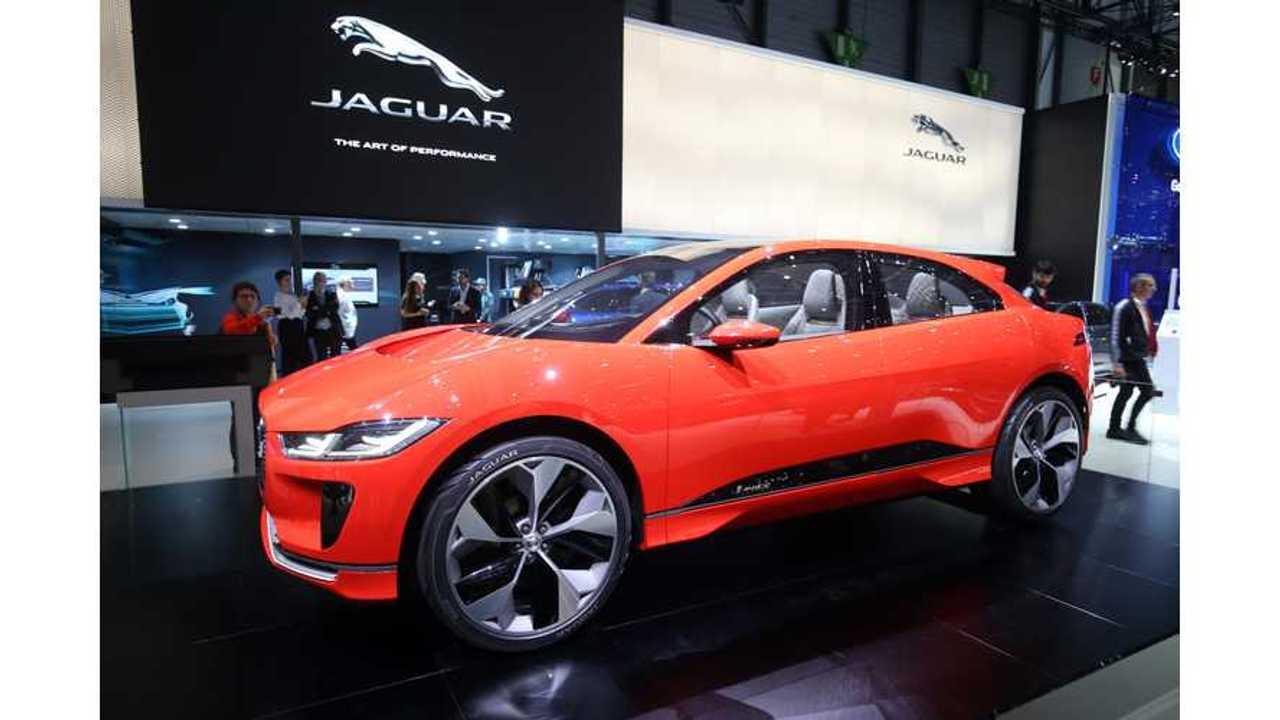 Photon Red Jaguar I-Pace Shines At Geneva - Photos & Videos