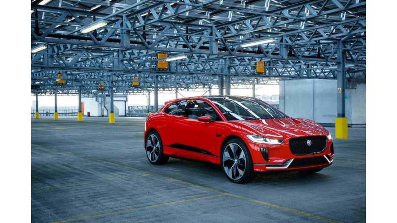 Jaguar I-PACE Concept First Test Drive (Video)