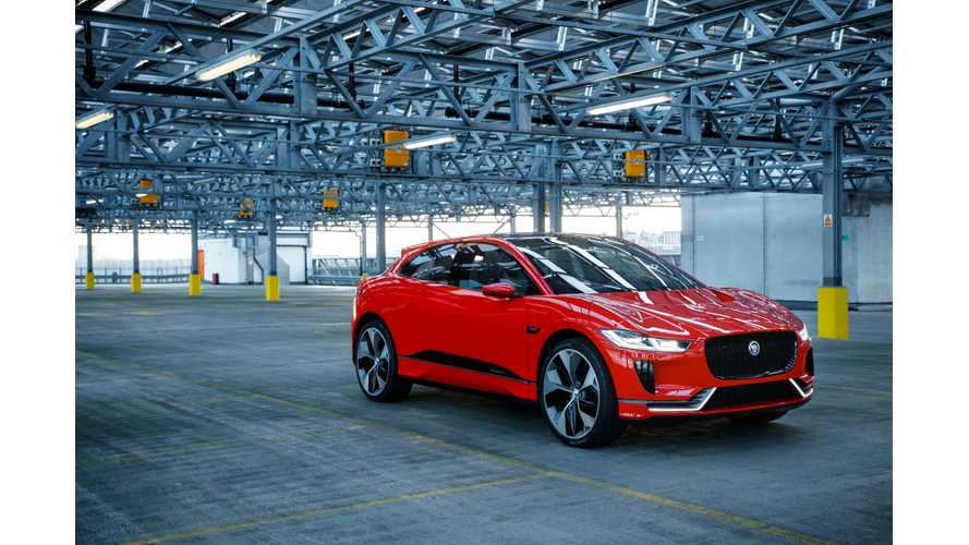 Jaguar I-PACE Concept First Test Drive (Video)
