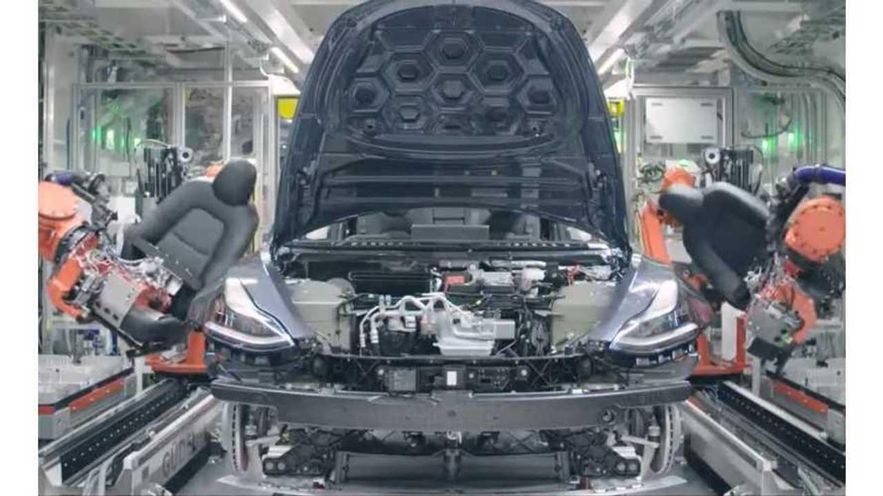 Majority Of Tesla Model 3's Built In Last Week Of June Needed Rework