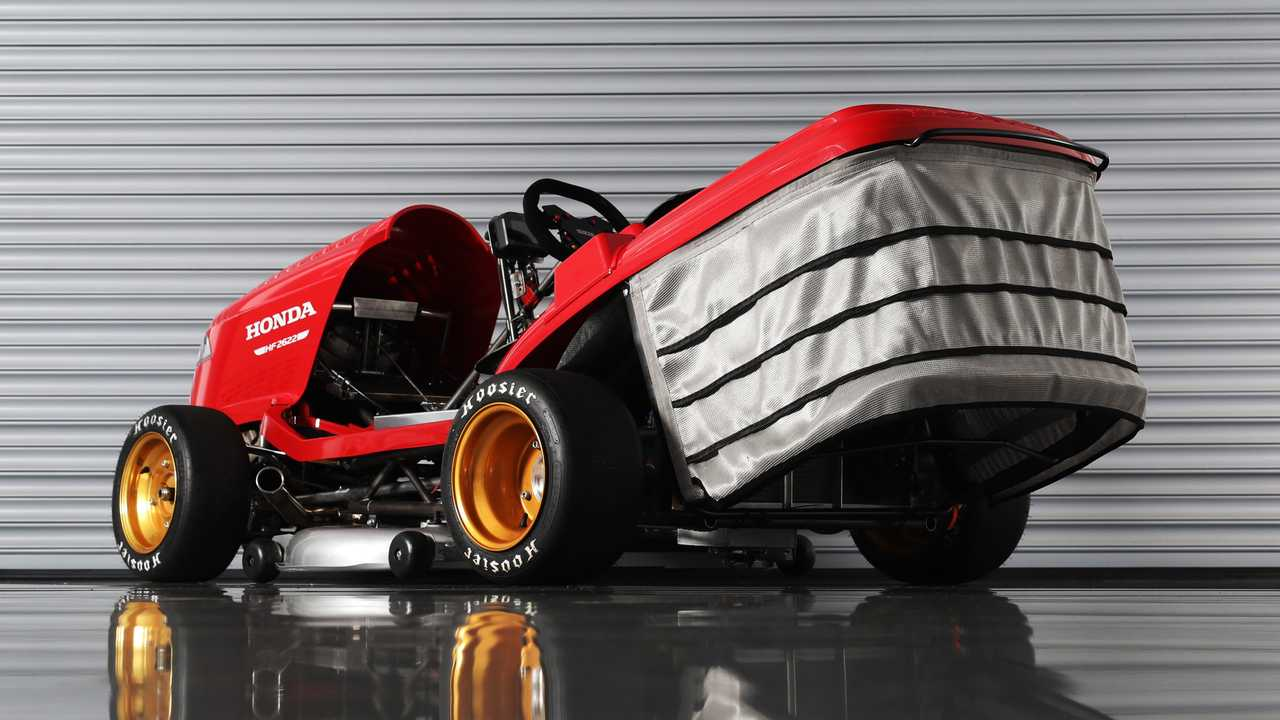 Honda Aiming For 150 MPH To Reclaim Fastest Lawn Mower Record
