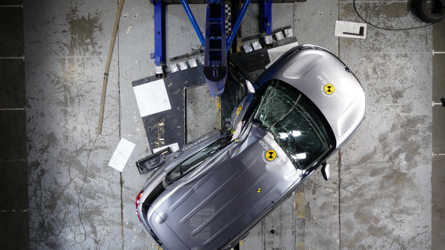 Range Rover Evoque, Citroen C5 Aircross crash test