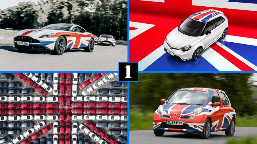 Which cars are built in the United Kingdom?