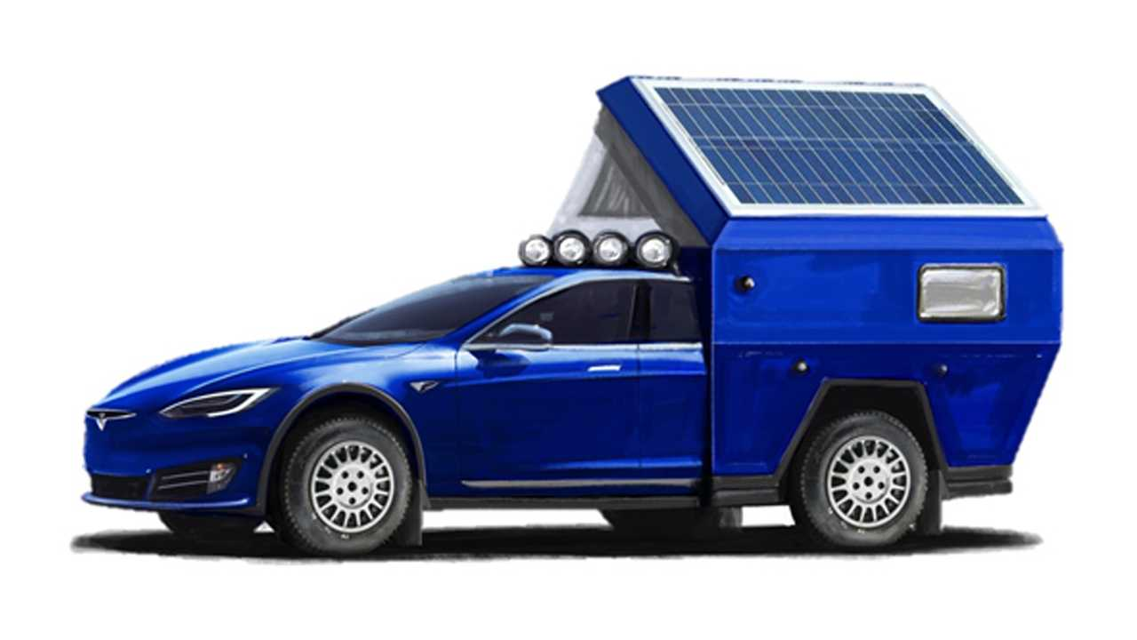 Tesla Roamer kamyonet ve karavan