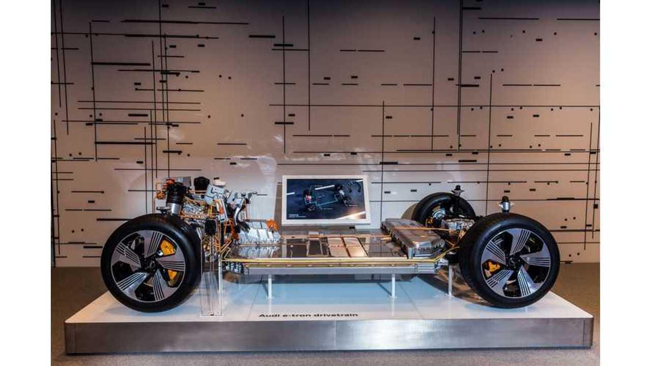 Audi e-tron underbody