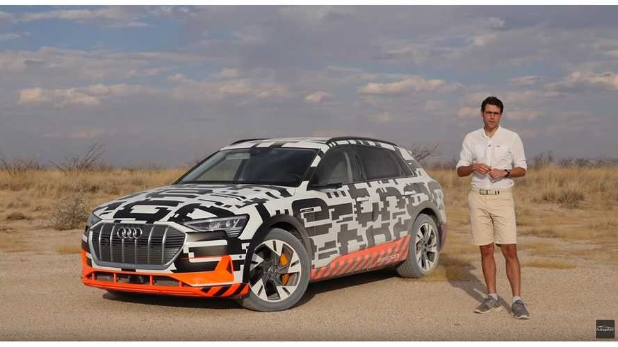 Audi e-tron All-Wheel Drive Capabilities Tested: Video