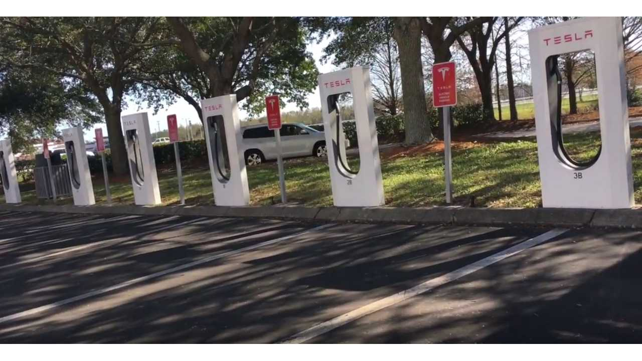 Are Tesla Superchargers Too Crowded? Video Ride Along To 6 Supercharging Stations