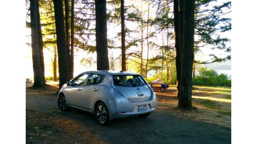 1,500-Mile Nissan LEAF Zero-Emission Road Trip - Progress Update 1