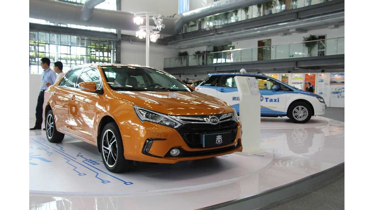 BYD Qin Sales Stable In October At 1,700 In China