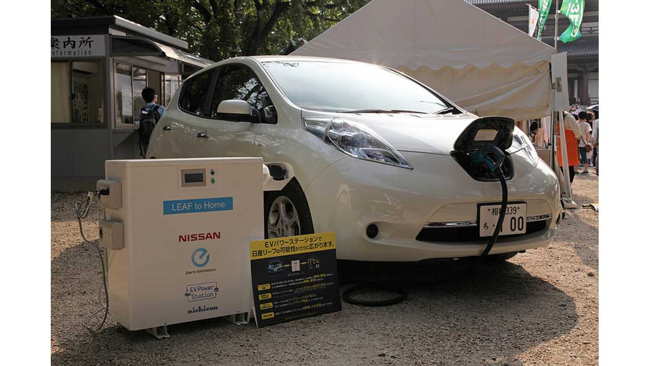 Nissan Testing Energy Supply & Demand Management With LEAF & LEAF-To-Home