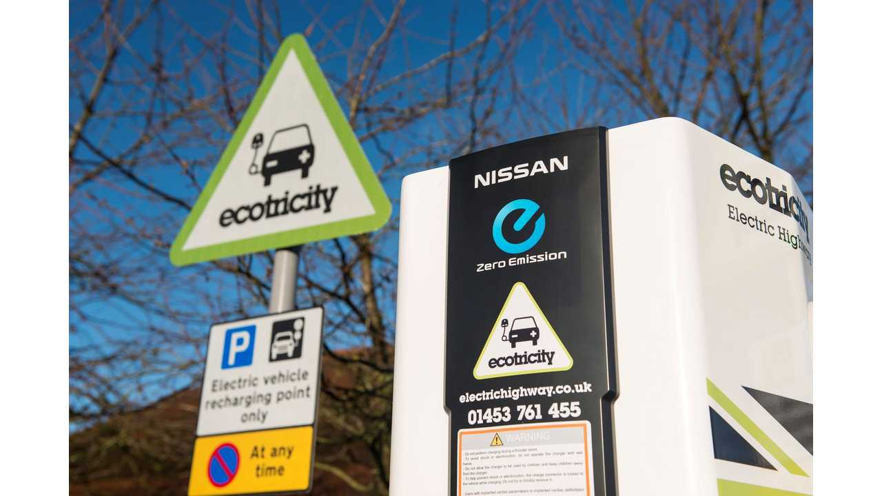 Electric Highway Quadruples Number Of Charges in Nine Months
