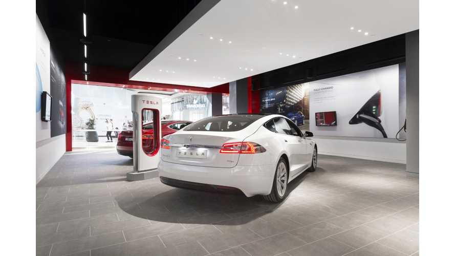 Tesla Stores Getting Revamped To Display Powerwall
