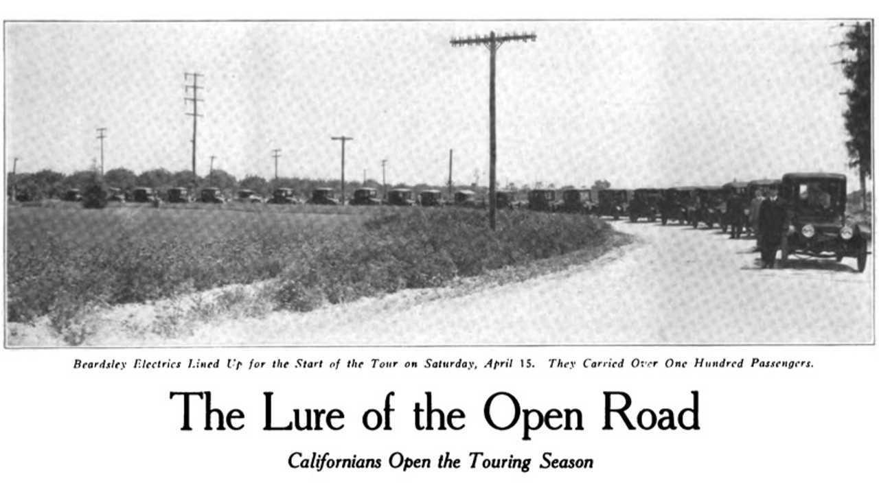 1916 Beardsley Electric Tour In LA