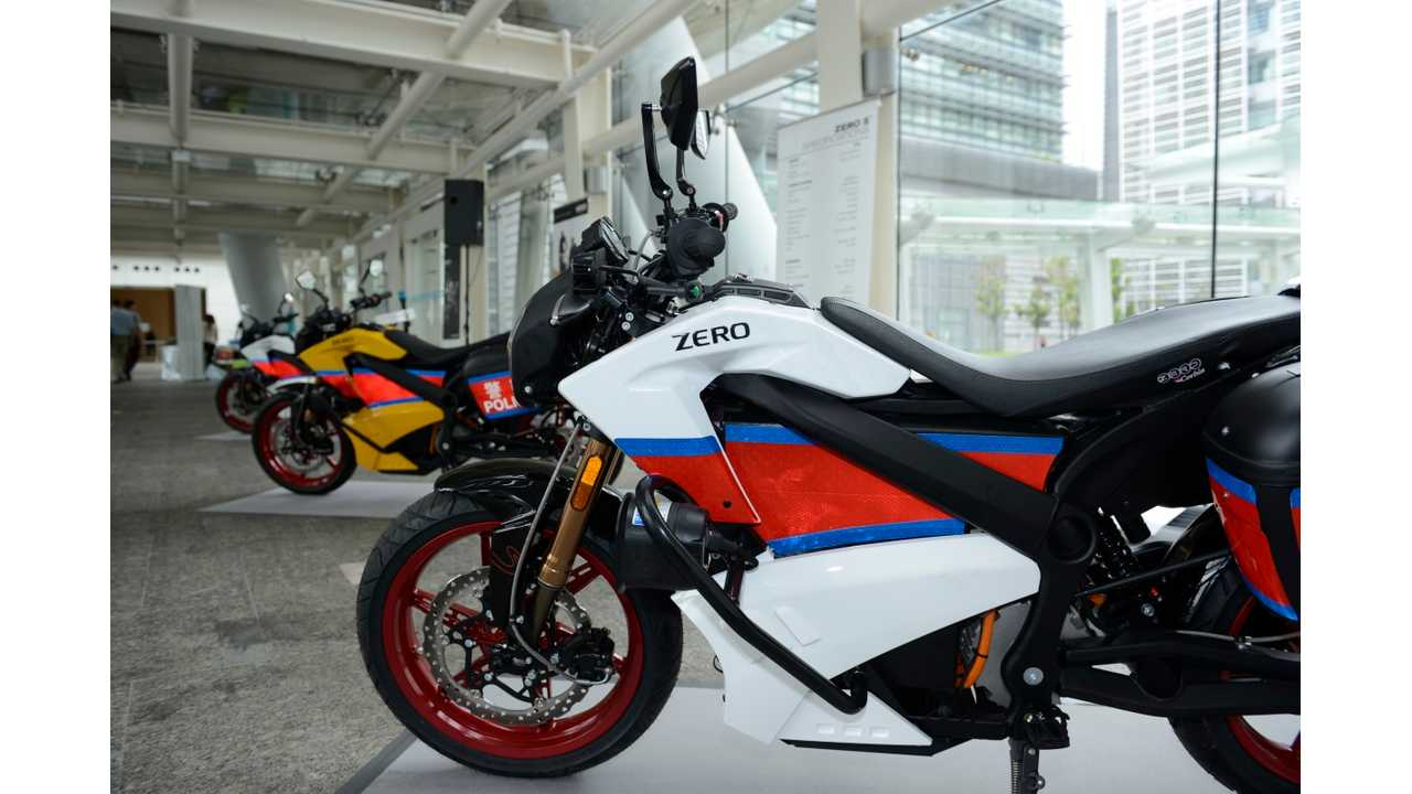 Two Zero Electric Motorcycles Catch Fire While Charging In Hong Kong