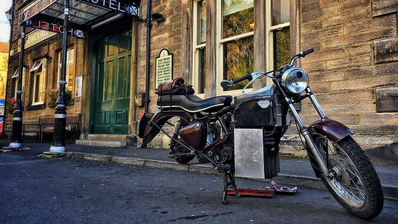 Land's End To John O'Groats On An Electric Royal Enfield