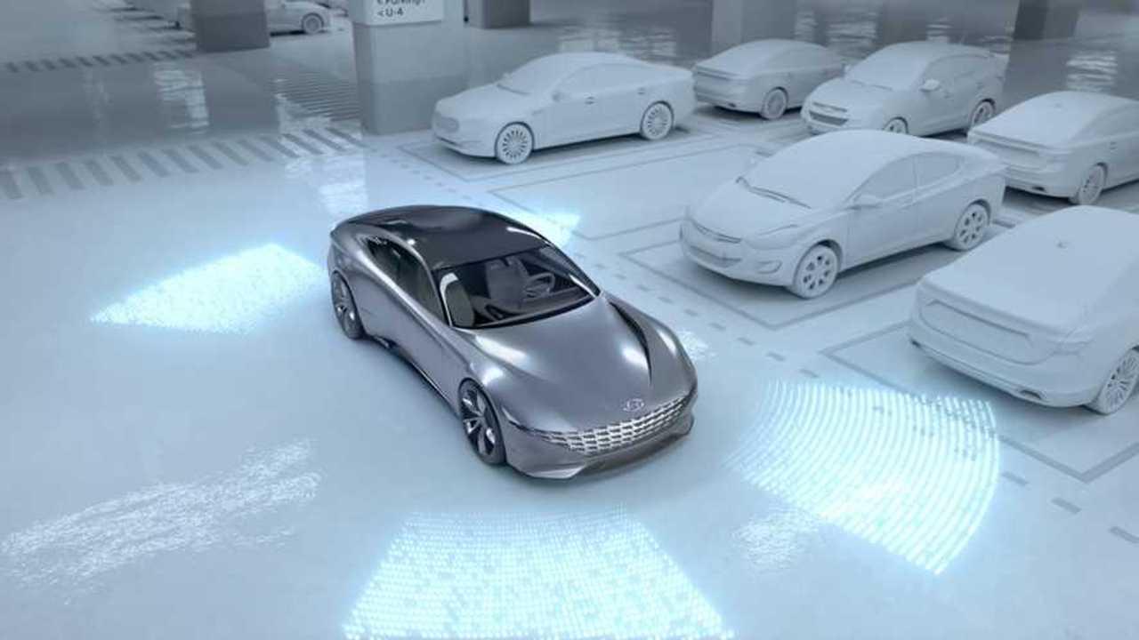 Hyundai and Kia Self Parking Concept