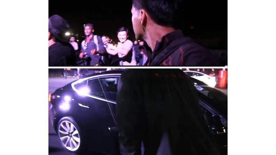 Tesla Model 3 First Ride Round-Up Videos, Bonus: Bjorn Meets Marques