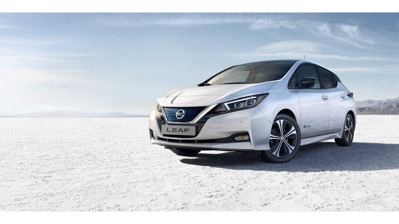 Plug-In Electric Car Sales In Europe Up 24% In October 2018