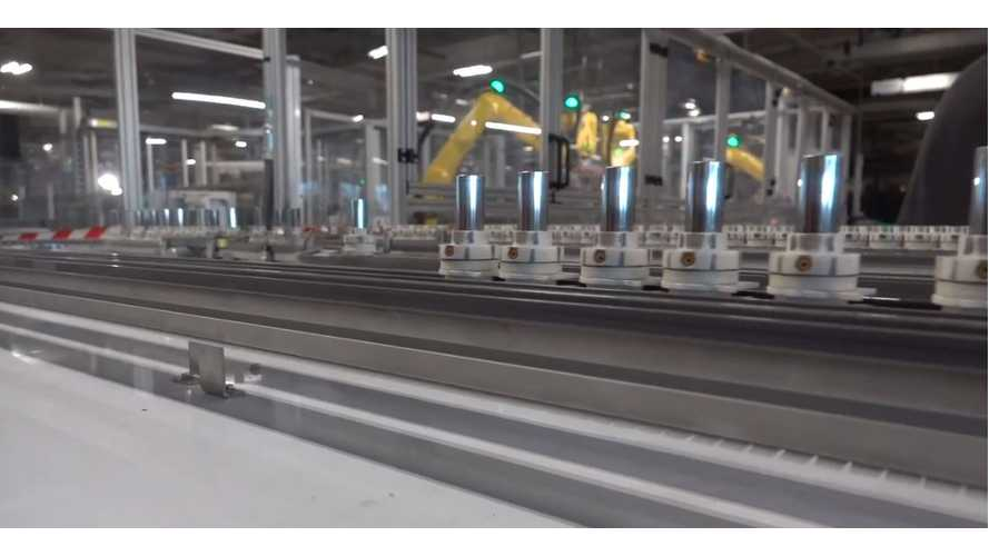 Take A Tour Of The Tesla Gigafactory: Video