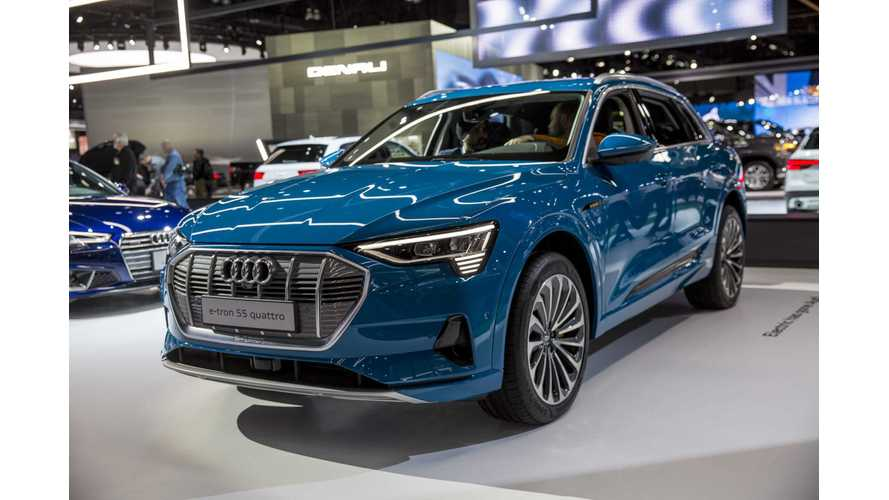 Audi Finally Ramps Up e-tron Registrations In Germany Into Triple Digits