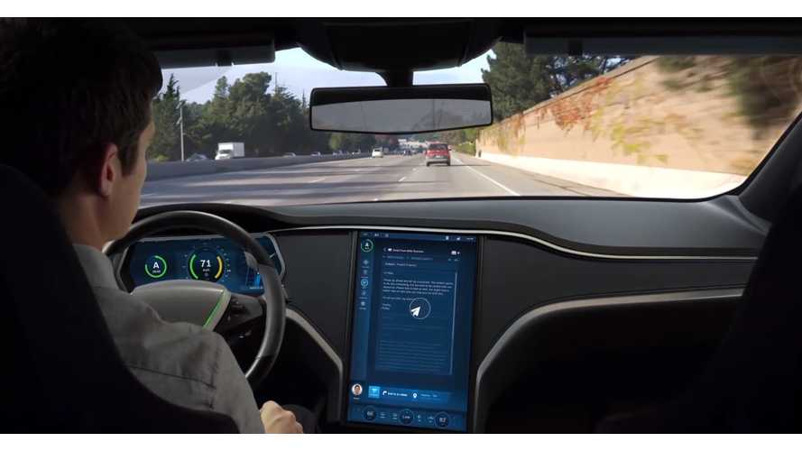 Bosch Presents Self Driving Tesla Model S - Video