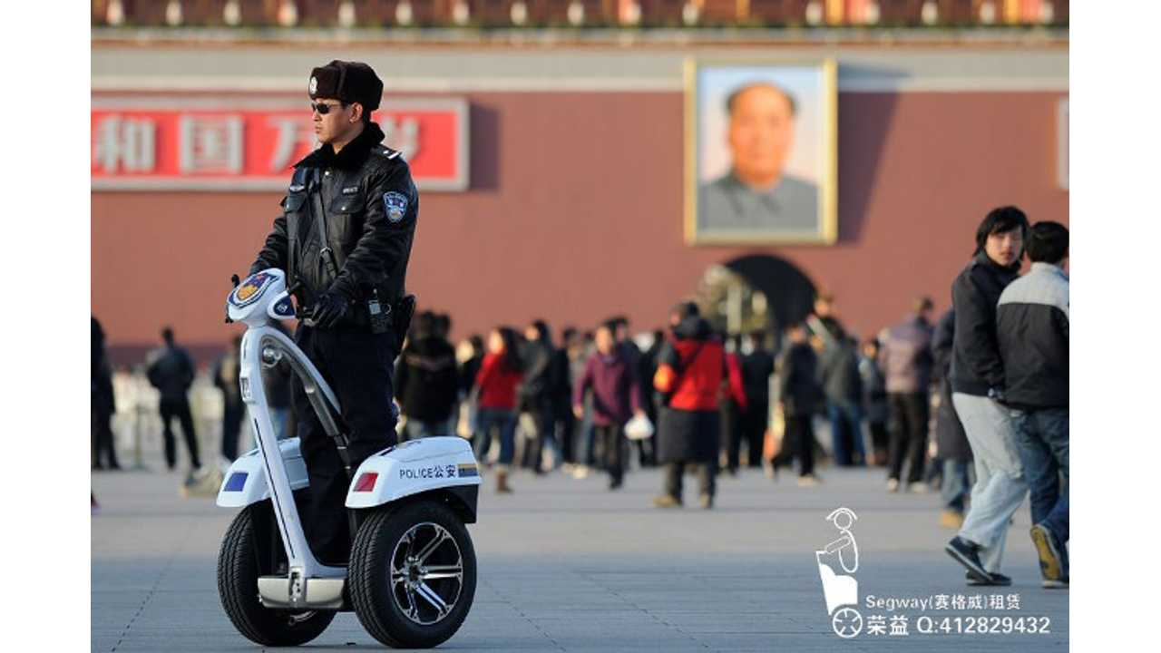 Ninebot, China's Segway Copycat Maker Buys Segway