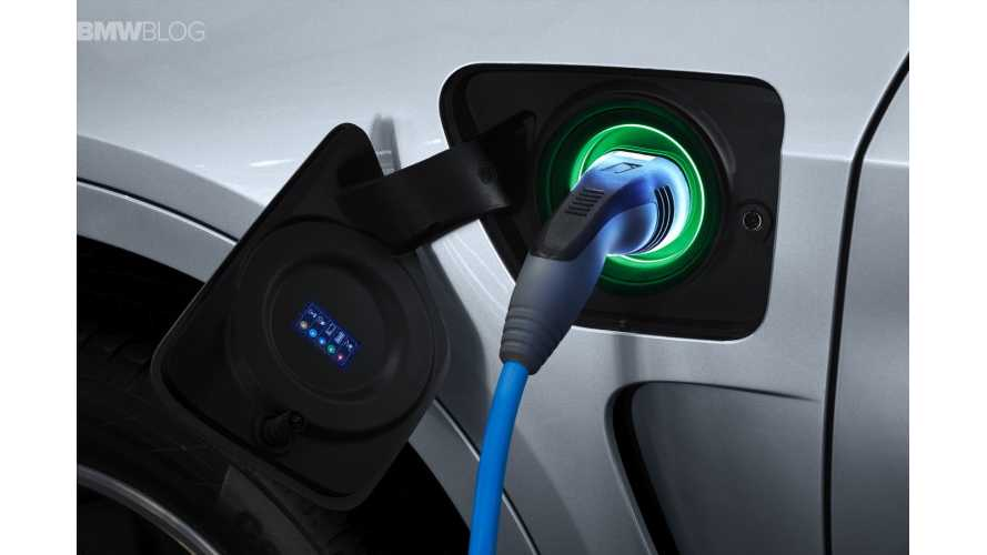 BMW X5 xDrive40e - Charging Video