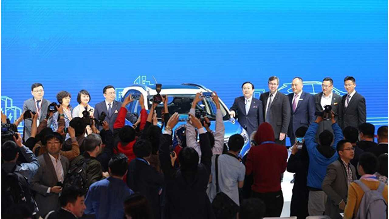 BYD at the 2015 Shanghai Auto Show