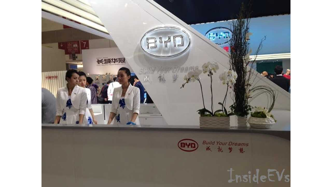 BYD Was The Big Player At Auto China