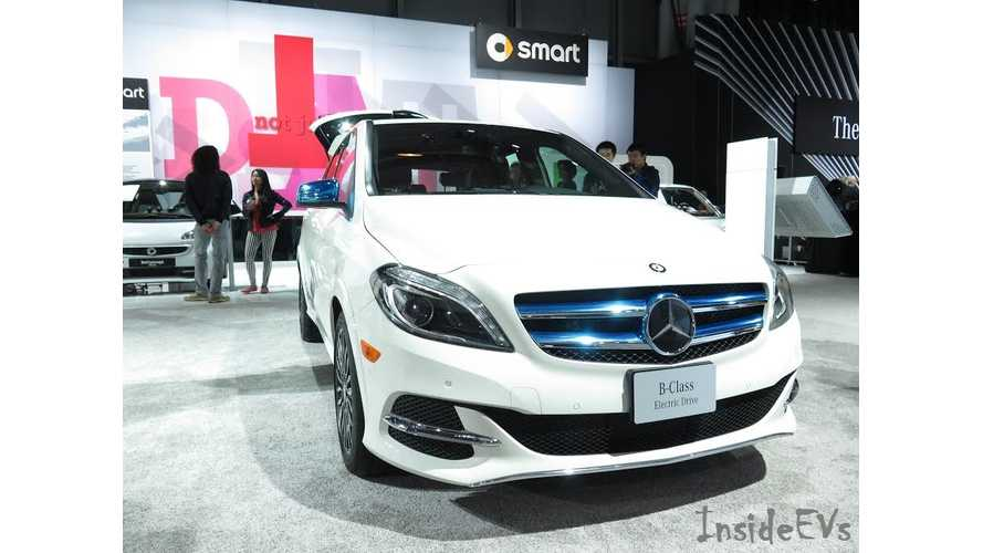 Exclusive: Mercedes-Benz B-Class Electric Drive - Range Mode Increases Electric Range By 15%