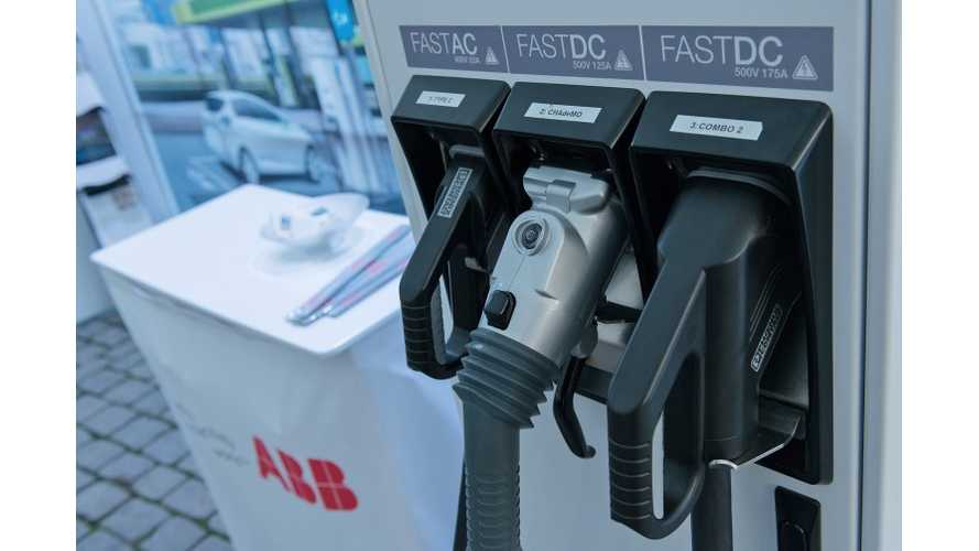 ABB Terra DC Chargers Become First Multi-Standard Chargers To Received CHAdeMO 1.0 Certfication