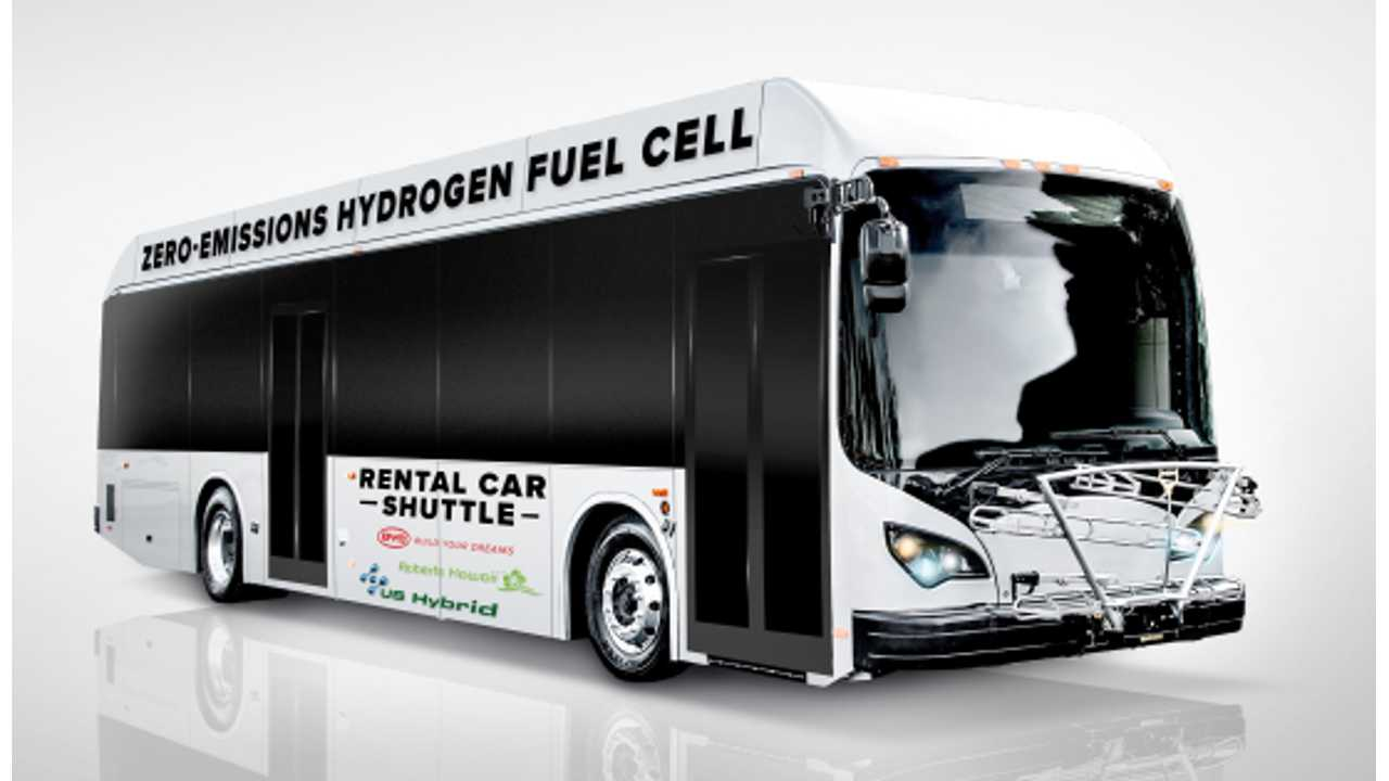 BYD Readies Fuel Cell Bus For Deployment In Hawaii