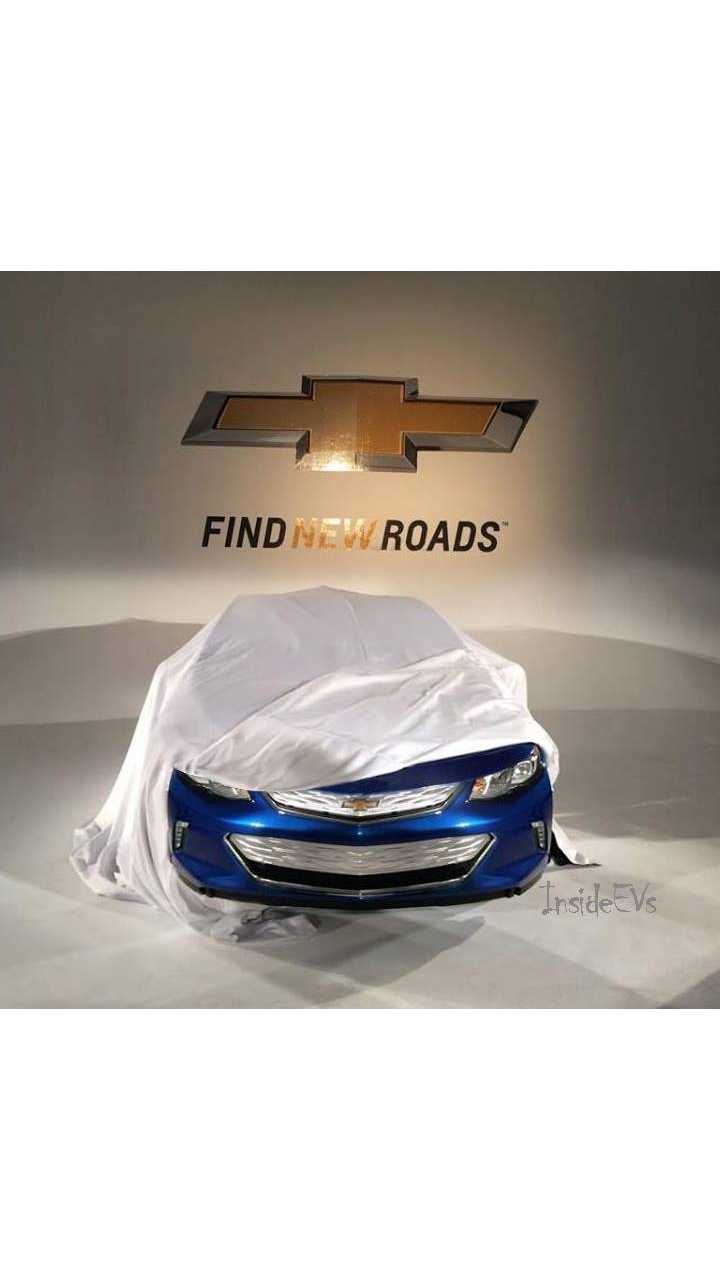 Next-Gen 2016 Chevy Volt To Debut In Just A Few Weeks - Props To Our Anonymous Photoshopper