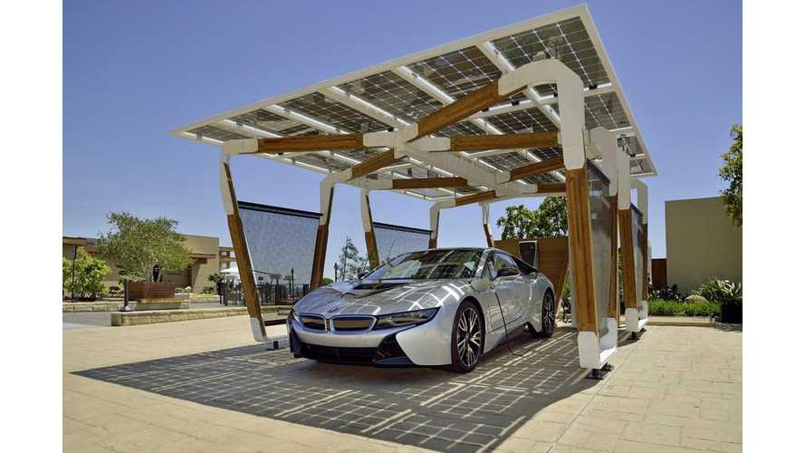 BMW Unveils i Home Charging Services