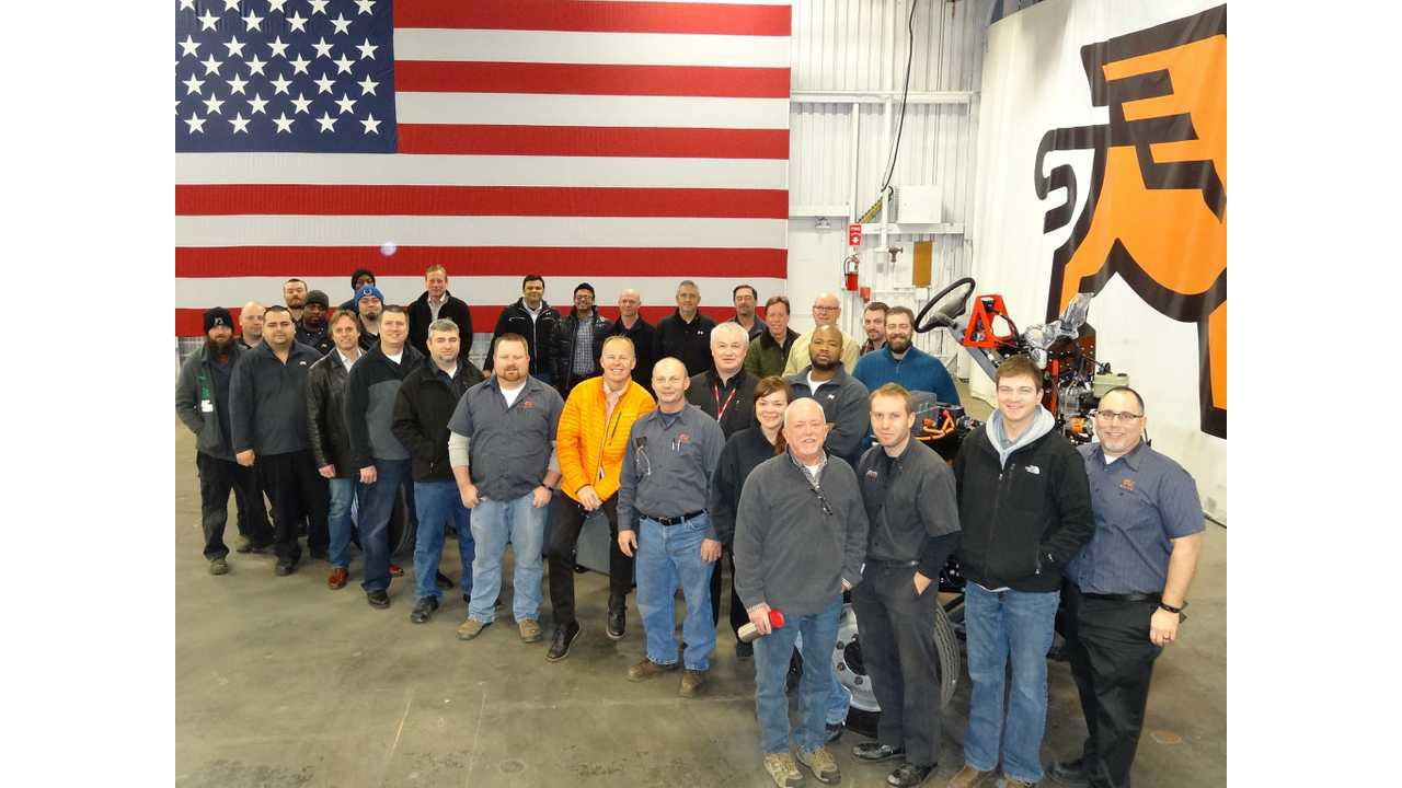 Smith Electric Vehicles Restarts Production