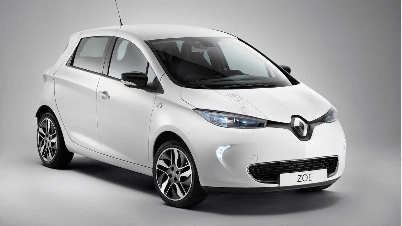 In November, Renault Sold More EVs Than In 2016, But Less Than In 2015