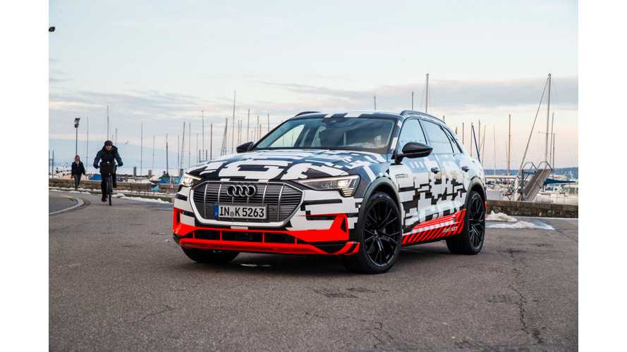"Audi Promises 310-Mile E-Tron Will Be A ""Volume Model"""