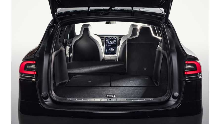 7-Seat Tesla Model X Gets Fold Flat Second-Row Seats