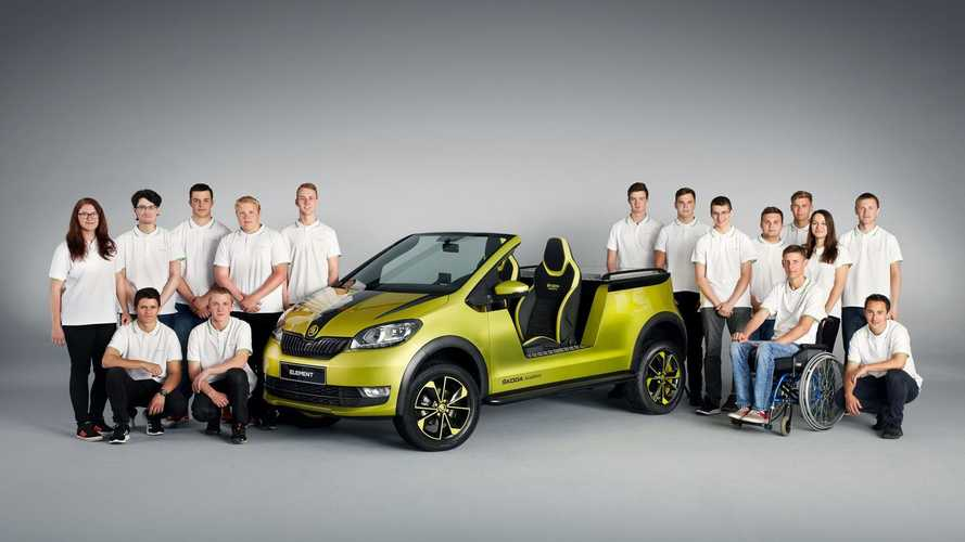 Introducing The Skoda Citigo Electric Buggy